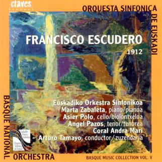 Francisco Escudero, Concierto para Violoncello y orquesta