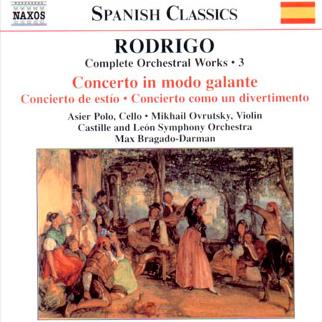 Rodrigo Concerto in modo galante for cello y Orchestra