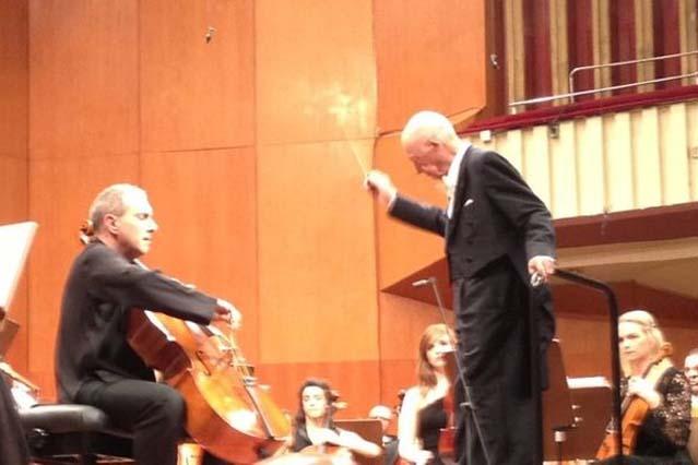 With maestro Frühbeck de Burgos.
