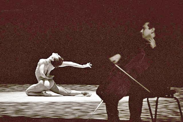 Asier Polo con Igor Yebra en concierto