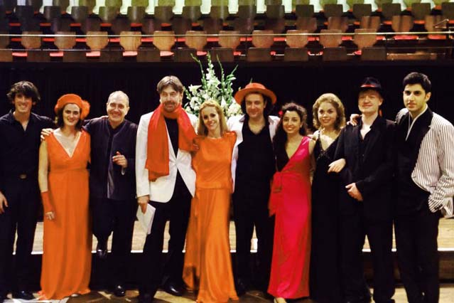 Great photo with lovely people! Monighetti, Gabetta, Leskovar, Rovner,Soltani, etc...