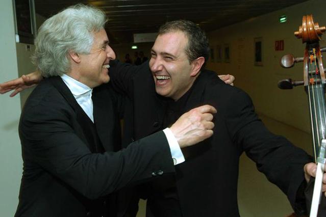 Con el Maestro Gilber Varga