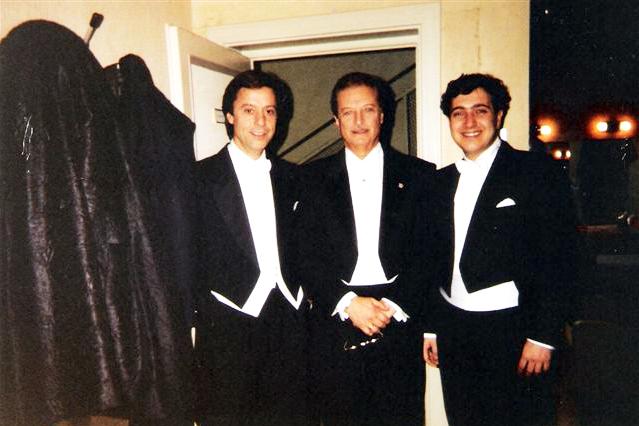 Asier Alfredo Kraus y Edelmiro Arnaltes, en el Covent Garden de  Londres